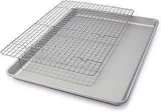Sur La Table Classic Half Sheet & Grid Set, Silver