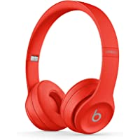 Beats by Dr. Dre Solo3 Over-Ear 3.5mm Wireless Bluetooth Headphones (Red)