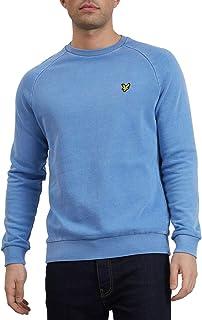 Lyle and Scott - Washed Sweatshirt, Cornflower Blue