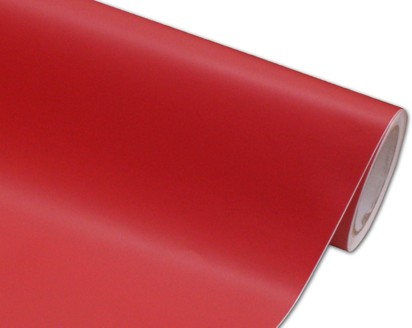 Sale item Hachi Auto Surprise price Matte Flat Red Vinyl Wrap 10FT Film 5FT x Car