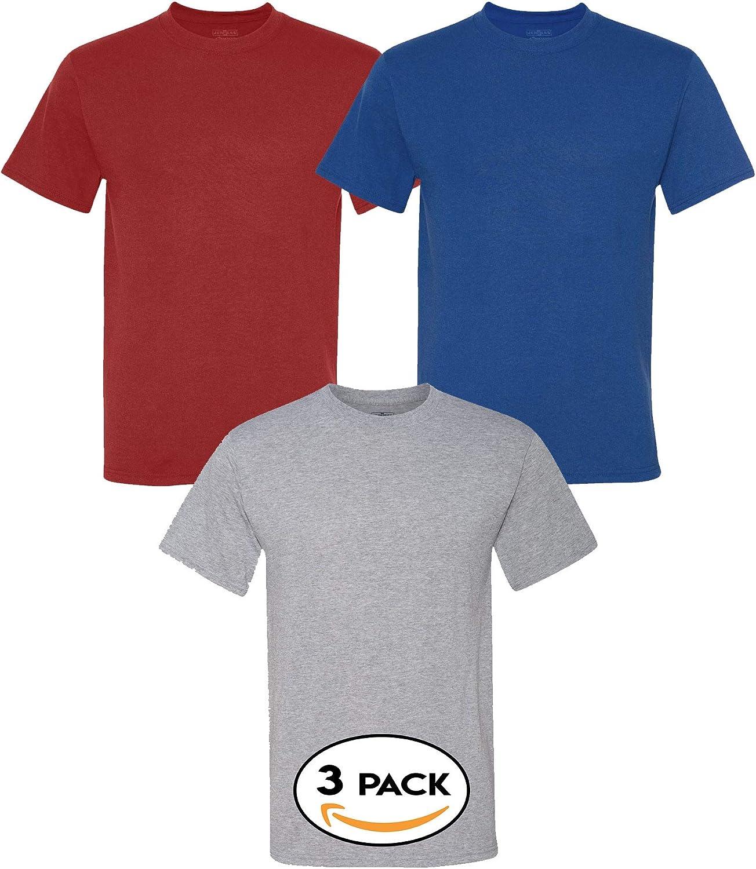 Multipack Jerzees Bundle Dri Power Performance Short Sleeve Bulk T-Shirt 3, 6, 10 Pack - Make Your Own Assorted Color Set