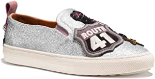 Coach Women's Slip on Shoes Sneakers with Cherry Patches US