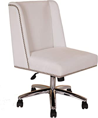 Boss Office Products Decorative Task Chair, White