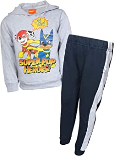 Nickelodeon Paw Patrol Boys 2-Piece Pull Over Fleece Hoodie and Sweatpant Set (Toddler/Little Kid)