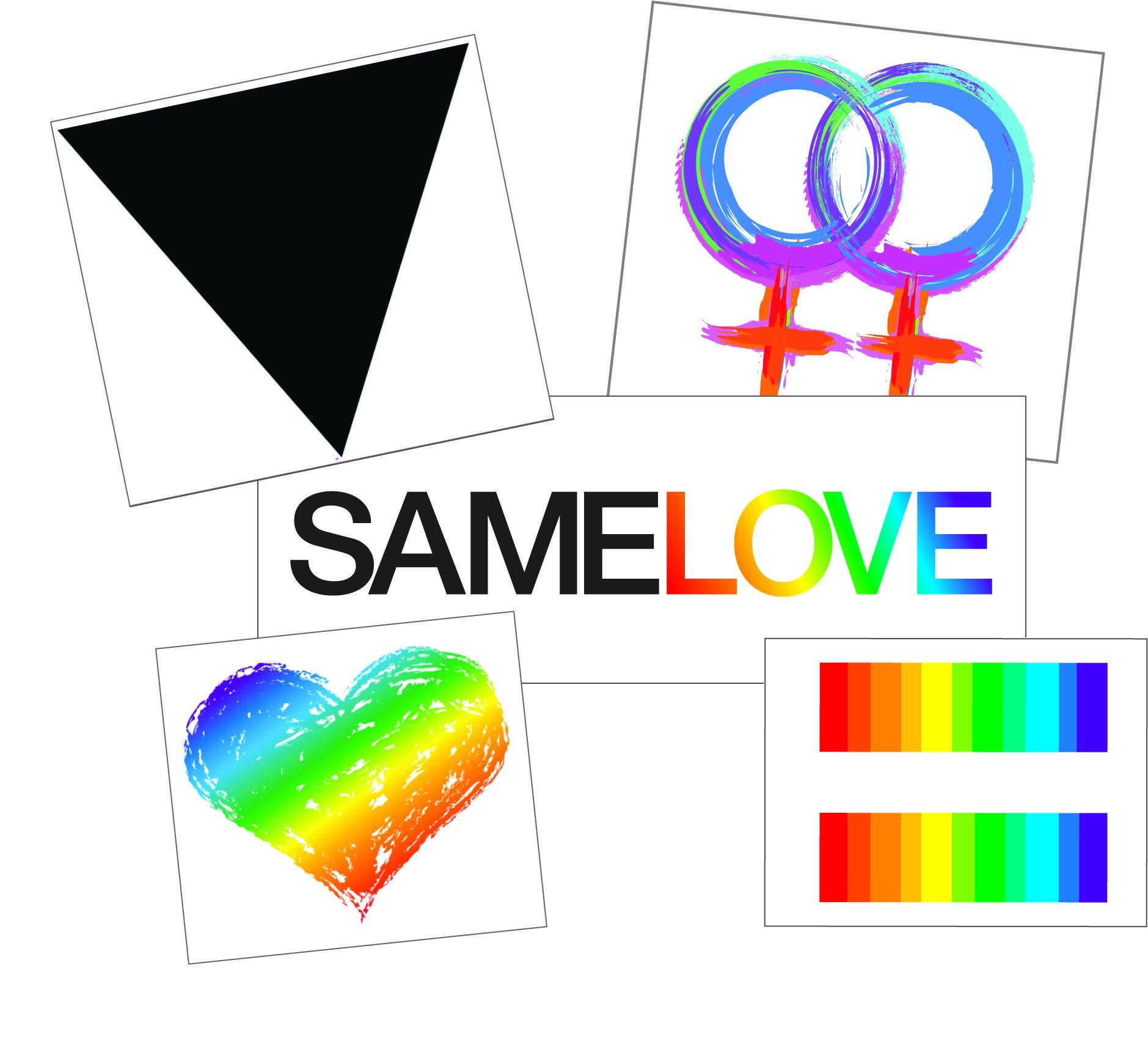 プライドレインボーハートテンポラリータトゥー - ゲイプライドアクセサリーセット -  LGBTQボディアートセット - 男性、女性、ティーンズ用半永久的プライドタトゥー