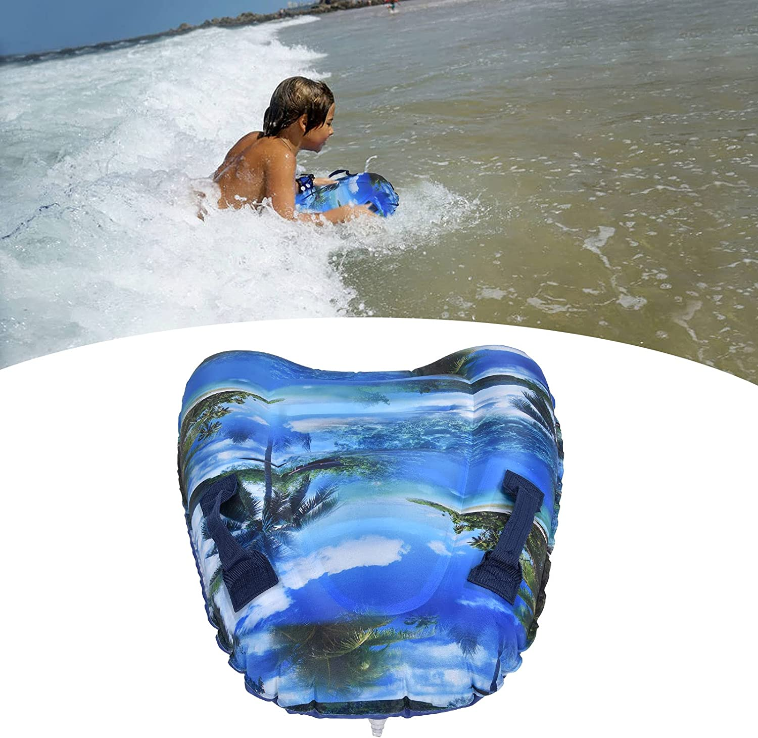 Al sold out. CUTULAMO Swimming Pool Floating Surfboard Non-Slip Summer New item Surfi