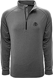 Levelwear LEY9R NHL Men's Summit Wordmark Quarter Zip Mid-Layer Jacket