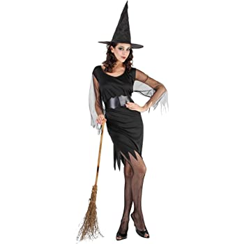 Disfraz de bruja para mujer ideal para Halloween Talla única ...