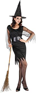 Streghe Donna Costume Adulti Halloween Fancy Dress BN Taglia S