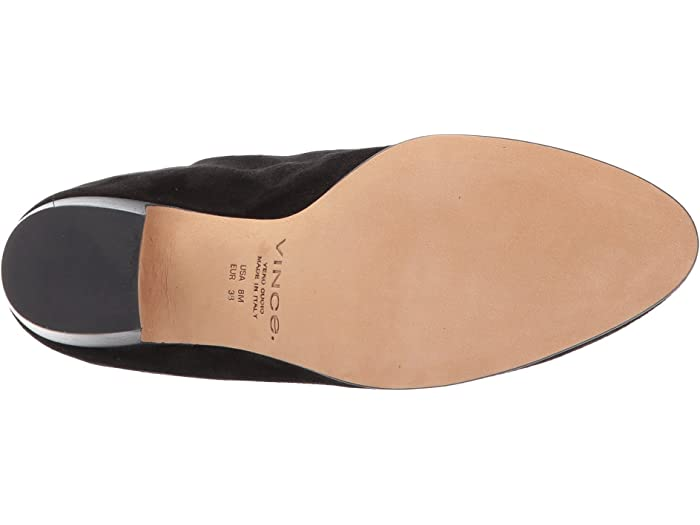 Vince Womens Dryden Low Heel Ankle Booties