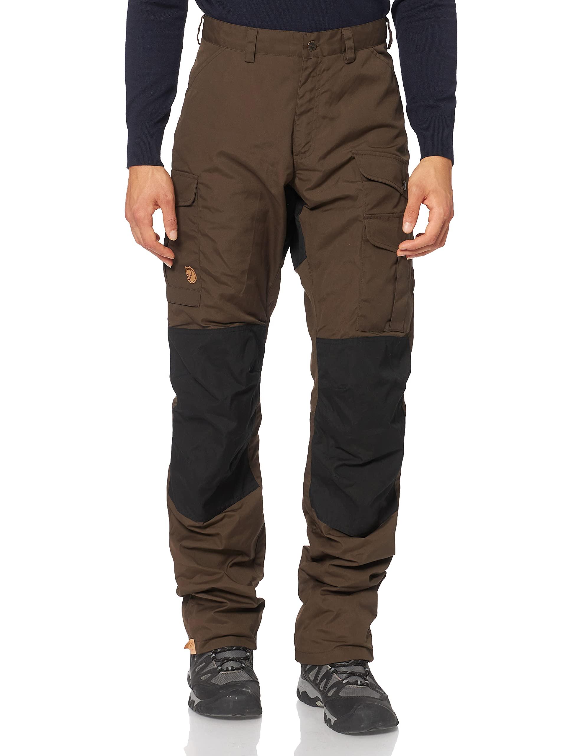 Fjällräven Herren Barents Pro Winter Trousers M Hose, Grün (Dark Olive 633),