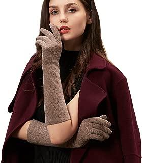 Halloween Gifts Womens Wool Gloves Mittens Touchscreen Knit Gloves Arthritis Arm Warmers