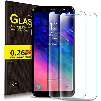 KuGi Samsung Galaxy A6 Plus 2018 Protector de Pantalla, Cristal ...