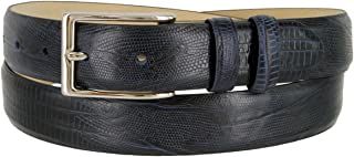 Adam Men's Genuine Italian Calfskin Leather Dress Belt 30mm 1-1/8