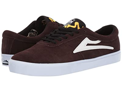 Lakai Sheffield (Chocolate Suede/Simon Bannerot) Men