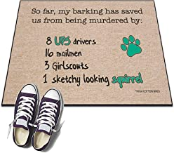 product image for Dog UPS Driver - HIGH COTTON Welcome Doormat