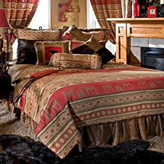 Adirondack Bed Set - King - Rustic Bedding Decor