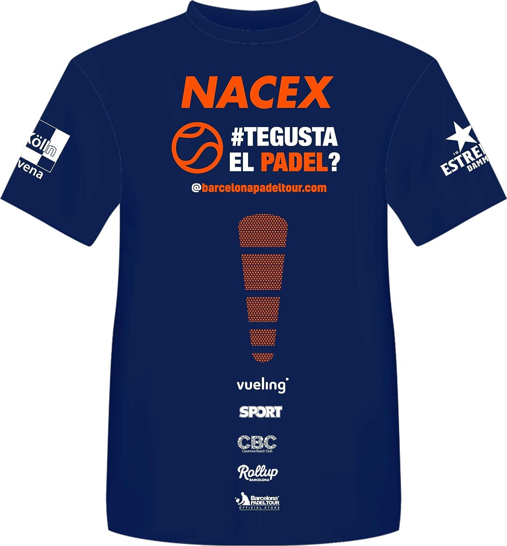 Barcelona Padel Tour T-shirt /à manches courtes technique Joma Xpress pour homme