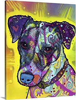 Jack Russell Canvas Wall Art Print, 11