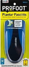 ProFoot Orthotic Insoles for Plantar Fasciitis & Heel Pain, Men's 8-13, 1 Pair