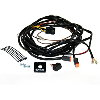 Amazon.com: KC HiLiTES 6308 110W Wiring Harness with 2-Pin Deutsch  Connector for Two Lights: AutomotiveAmazon.com