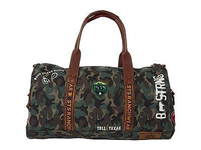 STS Ranchwear Camo Duffle Bag (Green/Brown) Bags