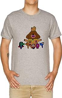 Vendax Scoiattoli di Il Galassia T-Shirt Uomo Grigio