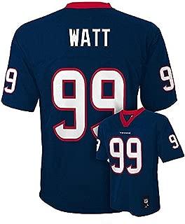 Outerstuff JJ Watt Houston Texans Youth Navy Jersey