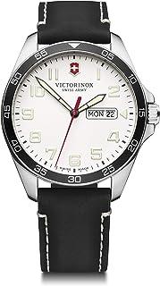 Victorinox - Hombre Field Force - Reloj de Acero Inoxidable de Cuarzo analógico de fabricación Suiza con día/Fecha 241847