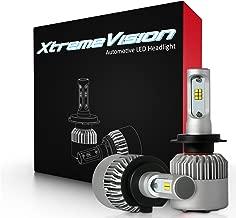 XtremeVision 7G 72W 16,000LM - H7 LED Headlight Conversion Kit - 6500K CSP LED - 2019 Model