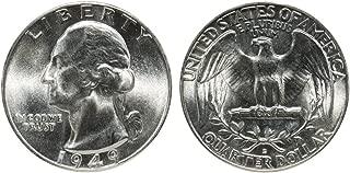 1949 D U.S. Silver Quarter High MS 1/4 Gem Brilliant Uncirculated
