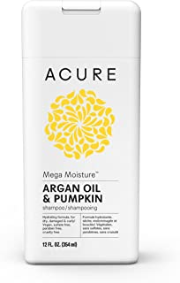 ACURE Mega Moisture Shampoo, Argan, 12 Fl. Oz. (Packaging May Vary)