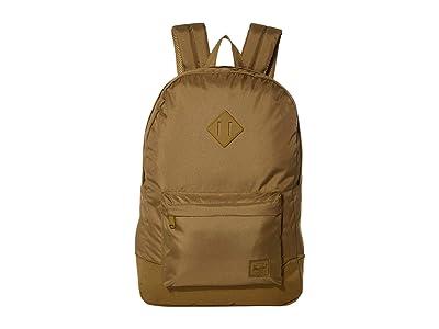 Herschel Supply Co. Heritage Light (Khaki Green) Backpack Bags