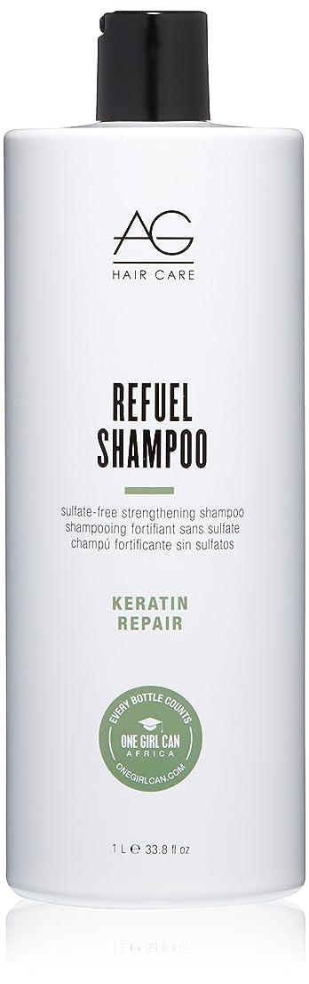 妊娠したフォルダエンコミウムAG Hair Refuel Sulfate Free Strengthening Shampoo, 33.80 Ounce by AG Hair Cosmetics