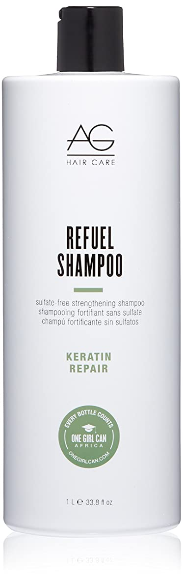 AG Hair Refuel Sulfate Free Strengthening Shampoo, 33.80 Ounce by AG Hair Cosmetics