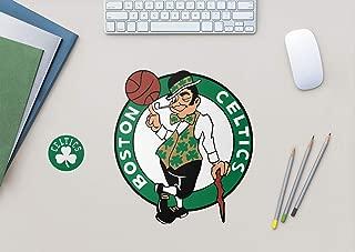 FATHEAD Fathead NBA Boston Celtics Boston Celtics: Logo Teammate - Officially Licensed Removable Wall Decal, Large, Multicolor - 89-00256