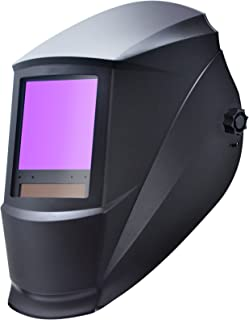 "Antra AH7-860-0000 Auto Darkening Welding Helmet Huge Viewing Size 3.86X3.5"" Wide.."