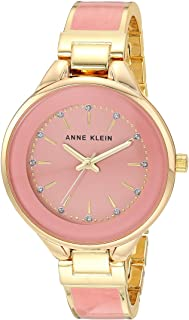 Women's Glitter-Accented Bangle Watch