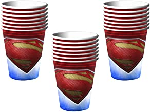 Man of Steel Superman 9 oz. Paper Cups - 24 Pieces