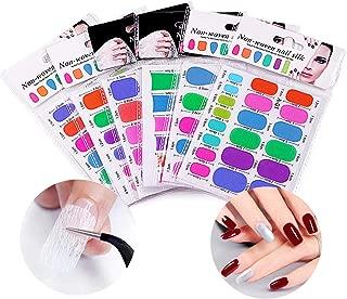 Tingbeauty Fiberglass Nail Wrap, 12PCS Nail Extension Non-woven Silks Nail Art Tips Extended DIY Tools