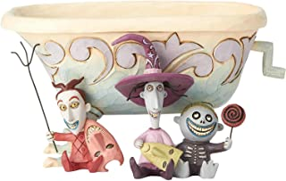 Enesco Disney Traditions Lock Shock Barrel Candy Dish, Multicolor