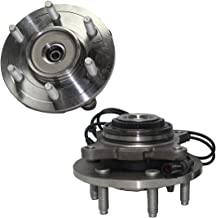 Brand New (Both) Front 4x4 Wheel Hub and Bearing Assembly w/ABS - 6-Lug for [2004 2005 Ford F-150 4x4 (Built Before 11/29/04 Production Date)]