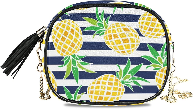 Summer Pineapple Pattern Crossbody Now on sale Bag Handbag cheap Shoulder Chain Ch