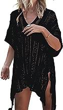 CASILY Women's Summer Beach Swimsuit Bikini Crochet Cover Up Dress