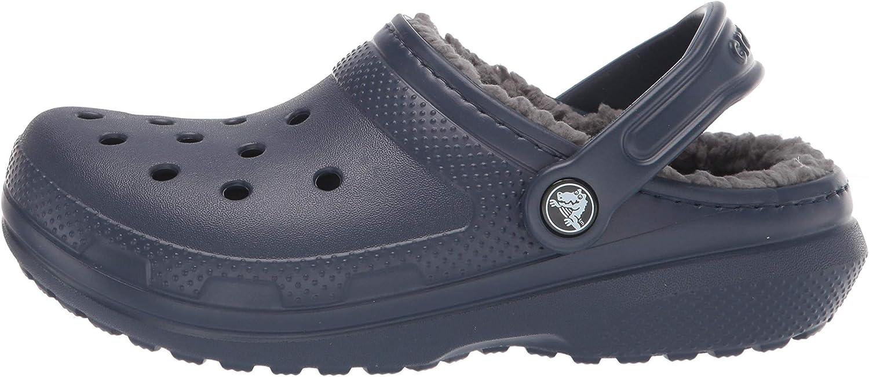 Crocs Mens and Womens Classic Lined Clog