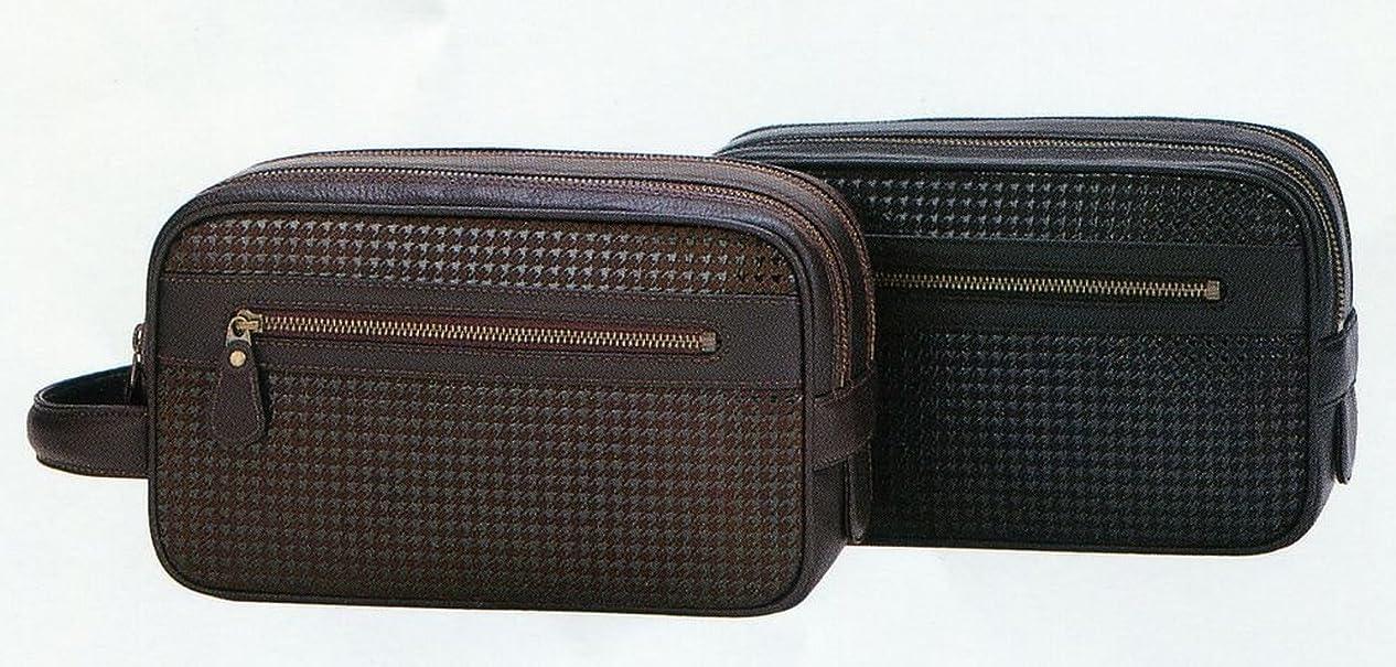 構築する抗生物質複数印傳屋 印伝 ハヤト紳士用セカンドバッグ 8902
