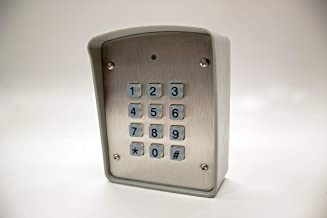 Gate Keypad Hard wire or wireless Keypad Linear Multicode compatible 300MHz GTO Mighty Mule 318MHz Compatible