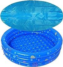 ZFQZKK Pool Solar Manta Cubierta Piscina Cubiertas de Piscina Redonda Piscina Piscina Piscina Tapa de hidromasaje Tapa de Manta Solar Piscina Infantil (Color : Blue, Size : 1.22m)