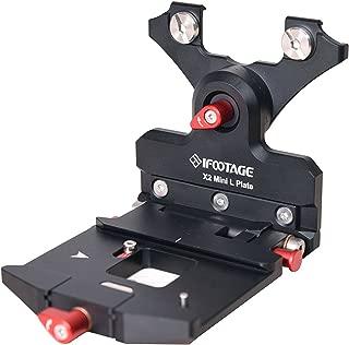 IFootage Mini Shark Slider L-Plate for X2 Mini Motion Control Head