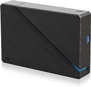 シリコンパワー 外付けハードディスク 4TB テレビ録画/PC 対応 PS4 動作確認済 3年保証 国内サポート SP040TBEHDS07A3KTV